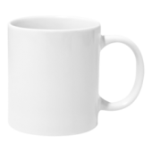 Tassen drinkbekers witte coating 36 stuks